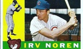 Irv Noren trading card, 1960.
