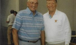 Irv and  Mickey Mantle