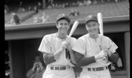 Washington Senators Mickey Vernon and Irv Noren, 1951.
