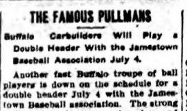 The Famous Pullmans. June 30, 1908.