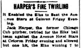 Harper's Fine Twirling. September 19, 1908.
