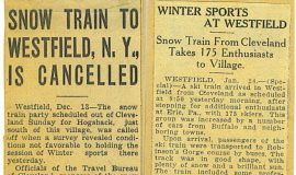 Snow Train To Westfield, N.Y. Is Cancelled.