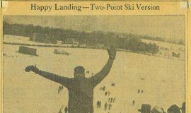 Happy Landing - Two-Point Ski Version.