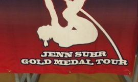 Jenn Suhr banner.