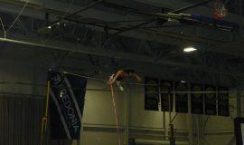 Jenn's practice jump.
