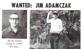 Wanted: Jim Adamczak. 1970.