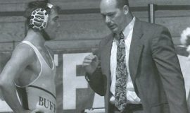 James Beichner, right, coaching at UB.