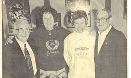 Wheeling's Rich Sports History Celebrated.  November 30, 1994.