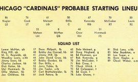 Cardinals starters
