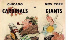 1958 football program