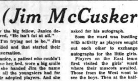 """""""Why, He (Jim McCusker) Isn't Fat at All!"""" December 18, 1957,"""