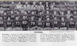 Jamestown High School football team 1954