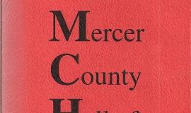 Mercer County Hall of Fame Induction. January 29, 1994,