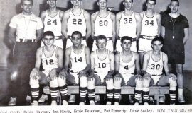 1963 Panama basketball team.