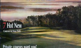 New York Golf. Spring 2004 cover.