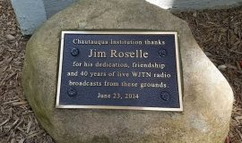 Jim Roselle broadcasted live from Chautauqua Institution for decades.