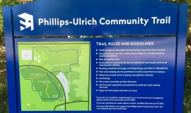 The Phillips-Ulrich Community Trail on the SUNY Fredonia campus was dedicated in 2016.