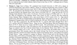 2011 Niagara Track & Field Hall of Fame press release,  page 4.