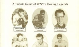 Buffalo Veteran Boxers Association program booklet cover