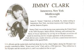 Buffalo Veteran Boxers Association program Jimmy Clark page