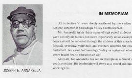 Section VI basketball program booklet. 1977