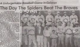 The Day The Spiders Beat The Braves