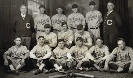 1927 Jamestown Chairs baseball team .