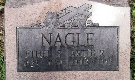 burial marker