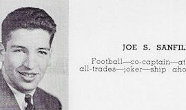 Joe Sanfilippo, Jamestown High School yearbook, 1943.