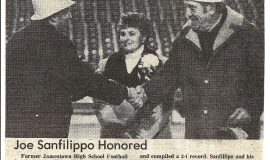 Joe Sanfilippo Honored. 1983