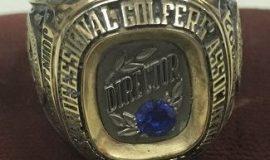 John Jachym's PGA Director's ring.
