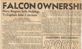Falcon Ownership Changes Hands (part 1).  October 18, 1945.