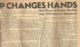 Falcon Ownership Changes Hands (part 2).  October 18, 1945