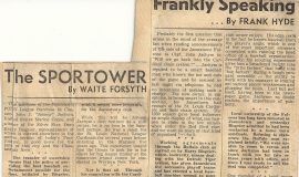 The Sportower and Frankly Speaking. October 18, 1945.