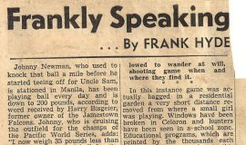 Frankly Speaking. October 19, 1945.
