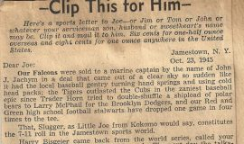Clip This For Him. October 23, 1945.