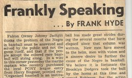 Frankly Speaking. October 26, 1945.