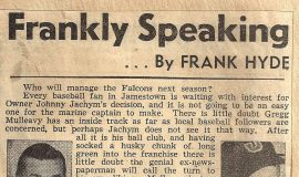 Frankly Speaking. November 9, 1945.