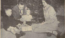 Christmas Warmup. December 25, 1949.