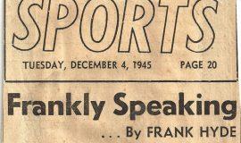 Frankly Speaking. December 4, 1945.
