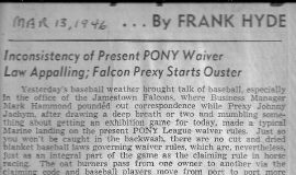 Frankly Speaking. March 13, 1946