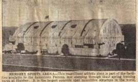 Hershey Sports Arena. April 12, 1946.