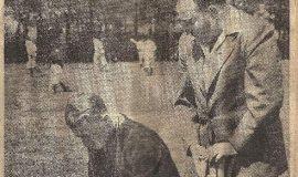 Checkup. April 13, 1946.