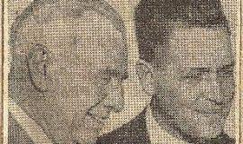 Speaker Visits Jamestown. May 1, 1946.
