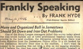 Frankly Speaking. May 10, 1946.