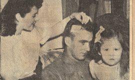 John Pollock's injury.  May 21, 1946.