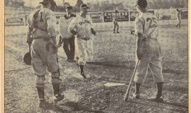 John Newman Hits First  Falcon Homer, 1941.