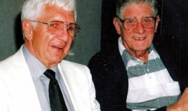 Russ Diethrick and John O'Neil in 1999.
