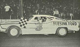 Jim Scott, Stateline/Eriez Speedway 1968.