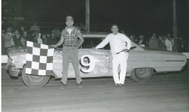 Paul Wilson, Stateline Speedway, 1964.